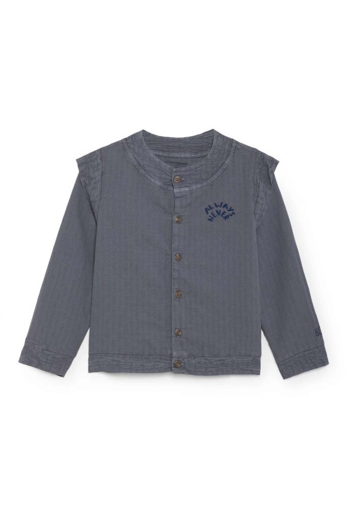 Bobo Choses Always Never Wings Blouse Dusty blue