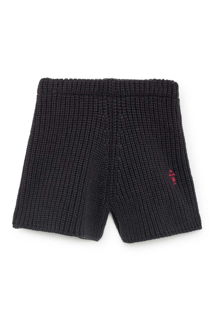 Bobo Choses Knitted Shorts Antracite