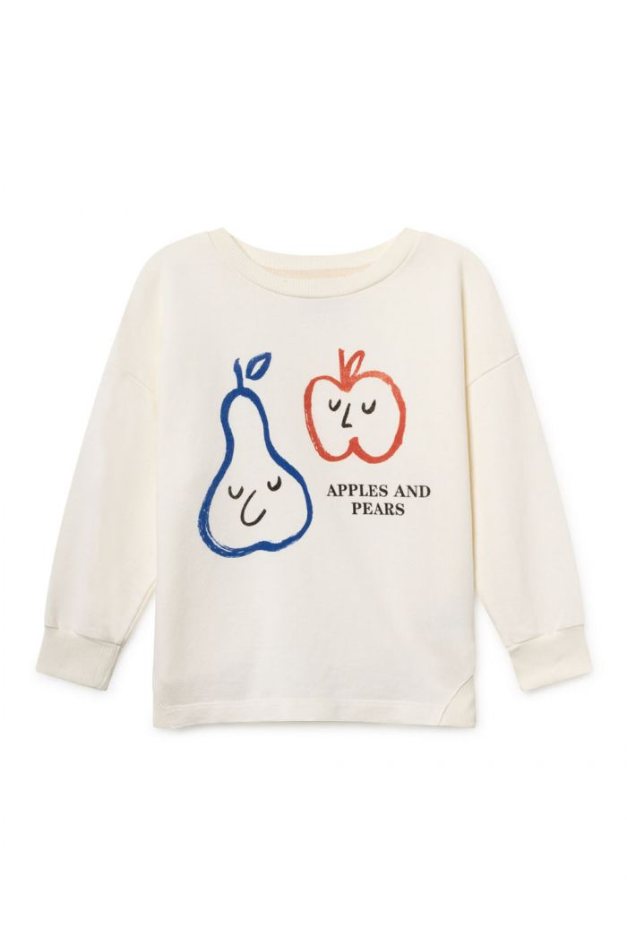 Bobo Choses Apples And Pears Round Neck Sweatshirt