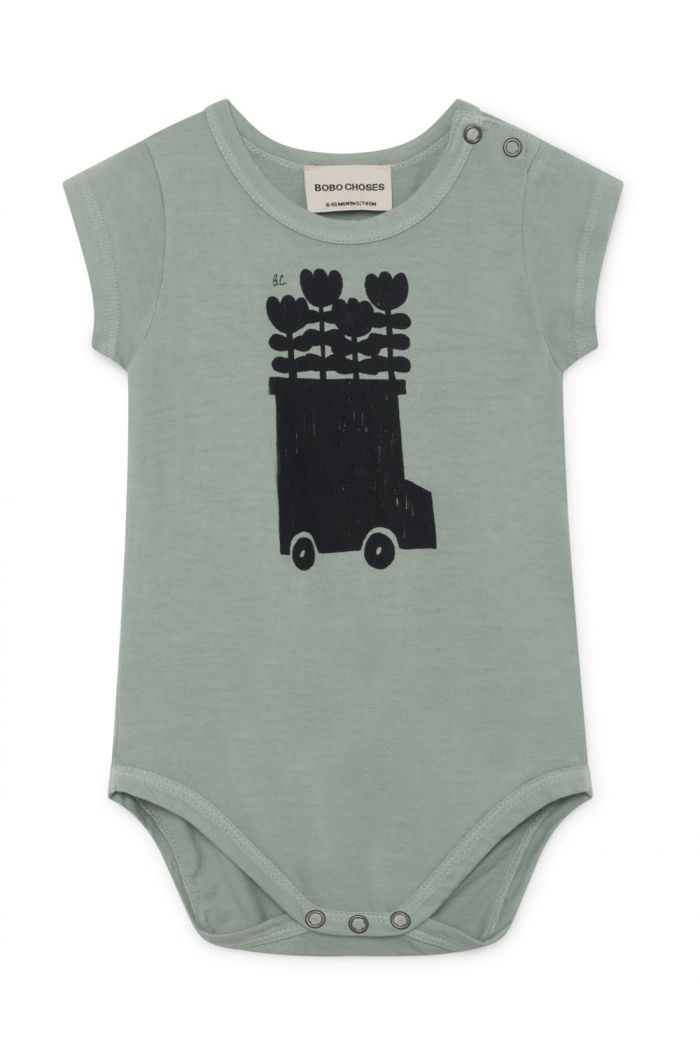 Bobo Choses Flowers Bus Short Sleeve Body