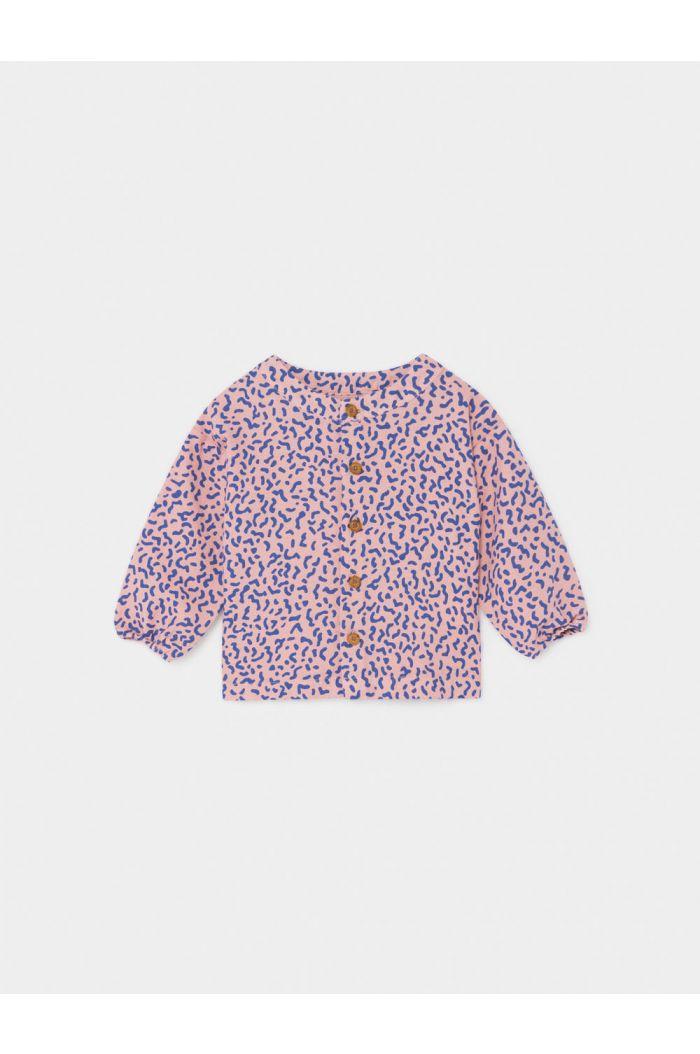 Bobo Choses All Over Stardust Buttons Blouse Mellow Rose
