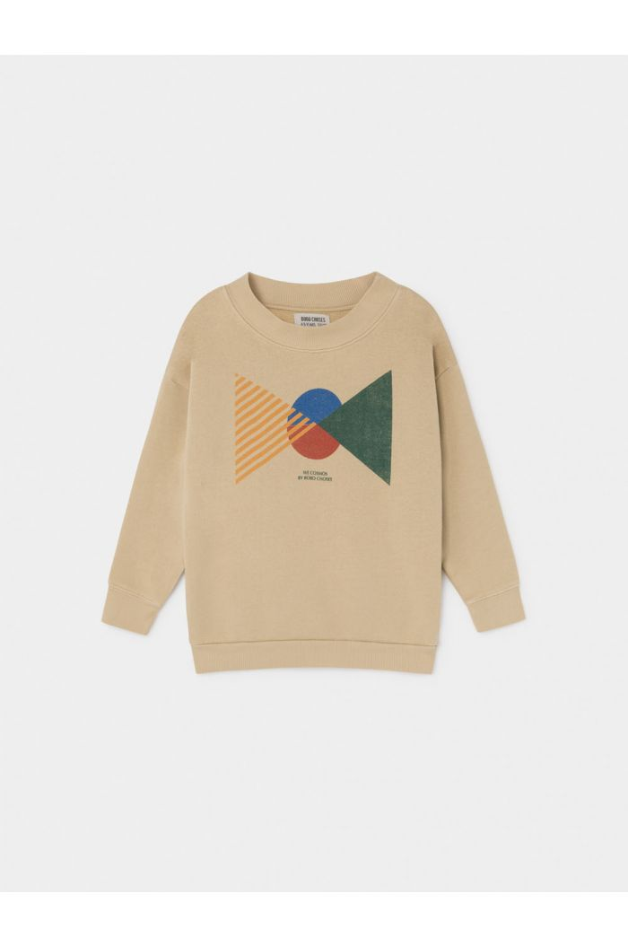 Bobo Choses Flags Sweatshirt Pebble