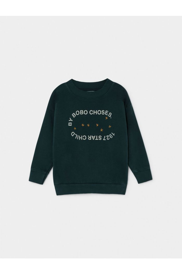 Bobo Choses 1927 Starchild Sweatshirt Sea Moss