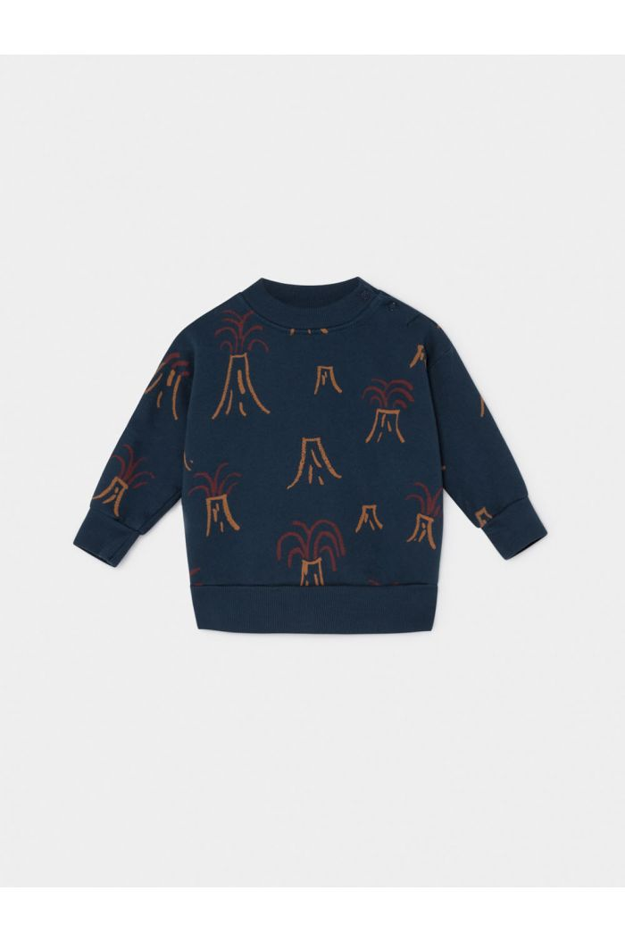 Bobo Choses All Over Volcano Sweatshirt Baby Estate Blue