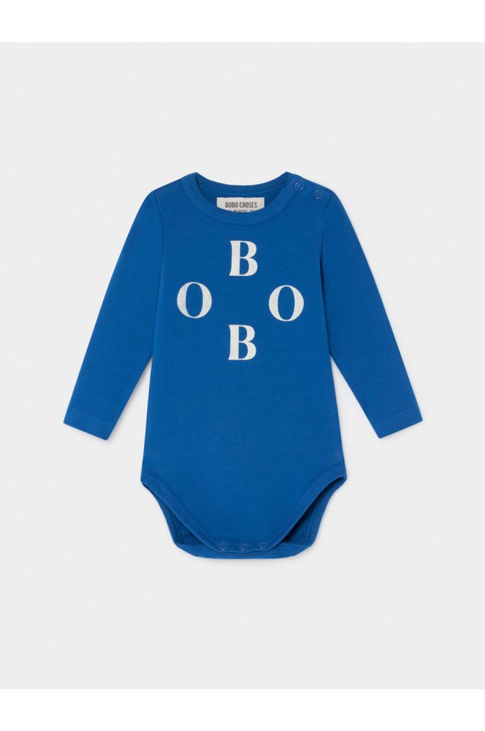 Bobo Choses Bobo Long Sleeve Body nautical Blue