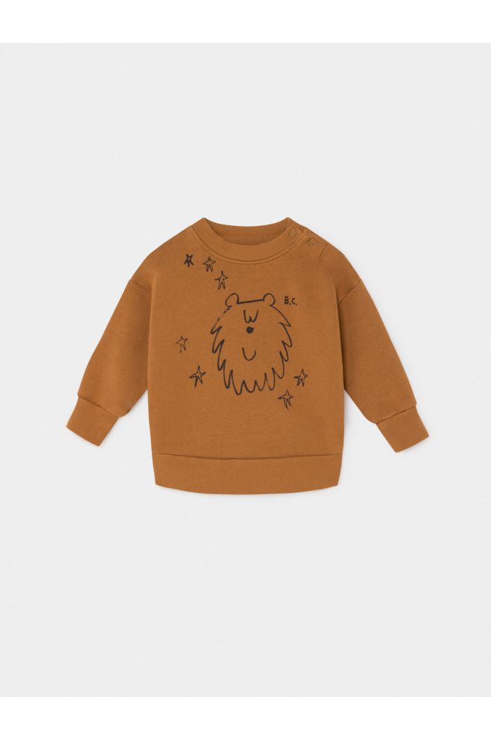 Bobo Choses Ursa Major Sweatshirt Sudan Brown
