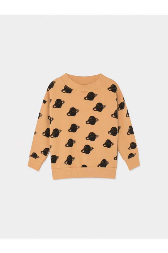 Bobo Choses All Over Big Saturn Sweatshirt Gold Earth
