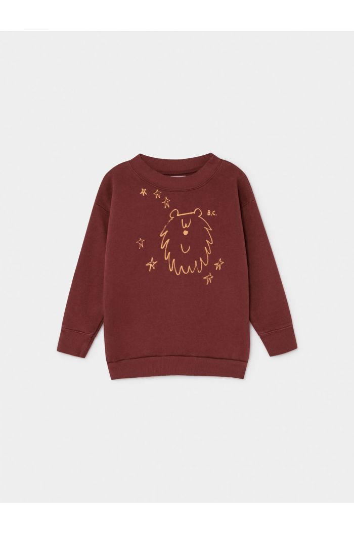 Bobo Choses Ursa Major Sweatshirt Sun Dried Tomato
