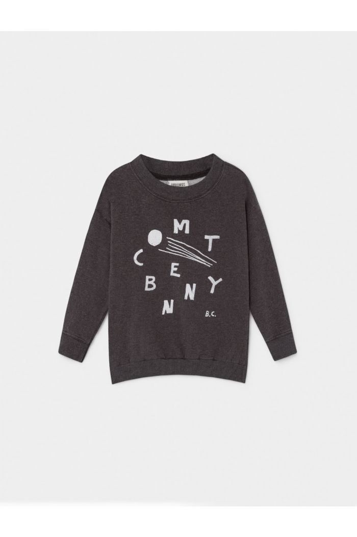 Bobo Choses Comet Benny Sweatshirt Grey Vigoré
