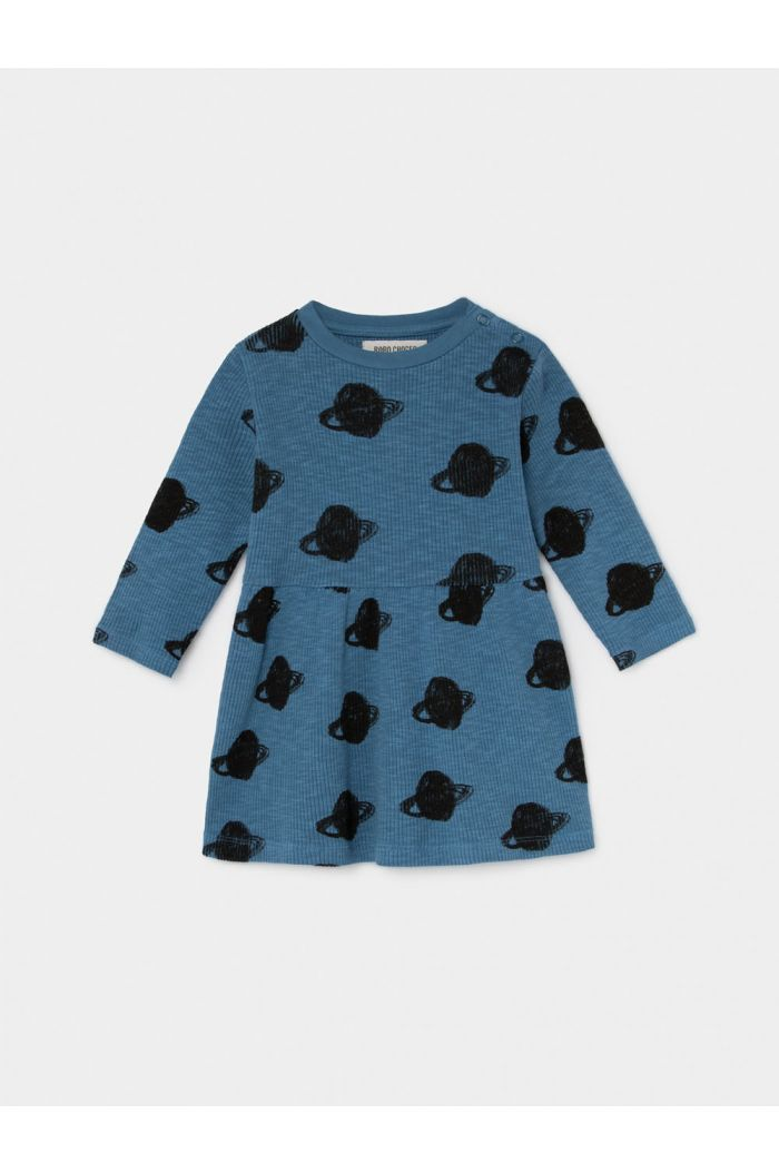 Bobo Choses All Over Small Saturn Jersey Dress Infinity
