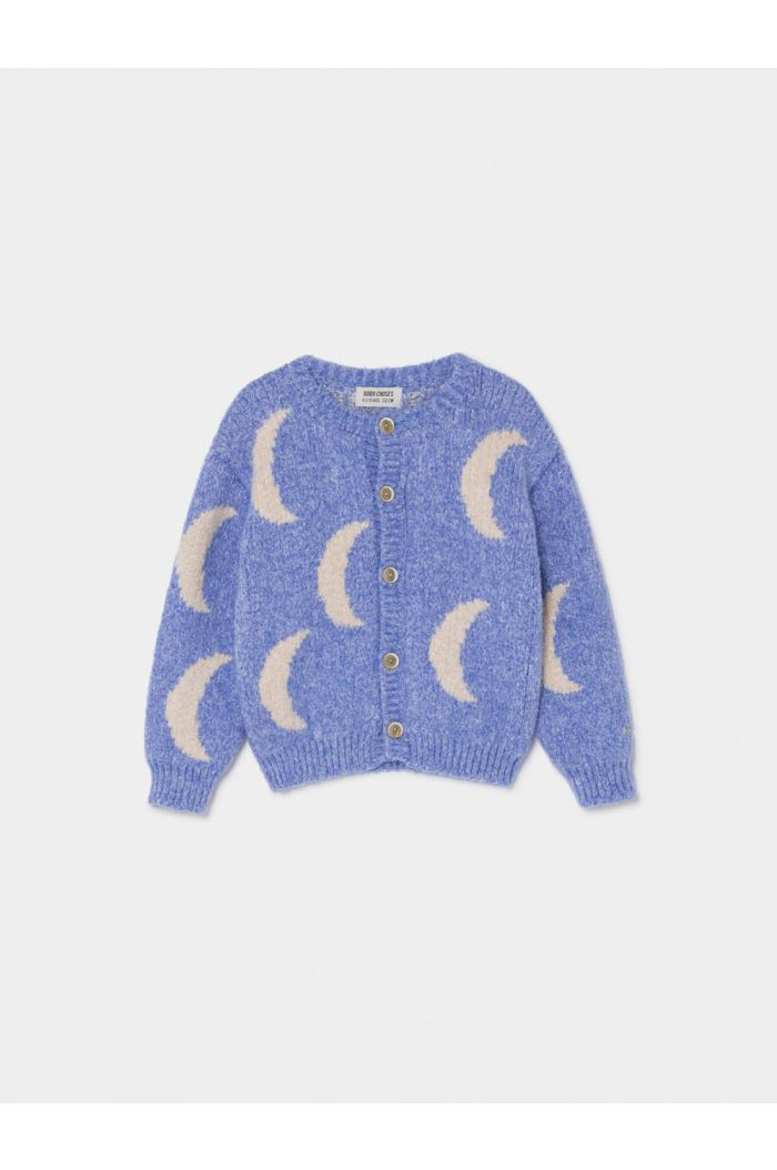 Bobo Choses Moon Jacquard Cardigan