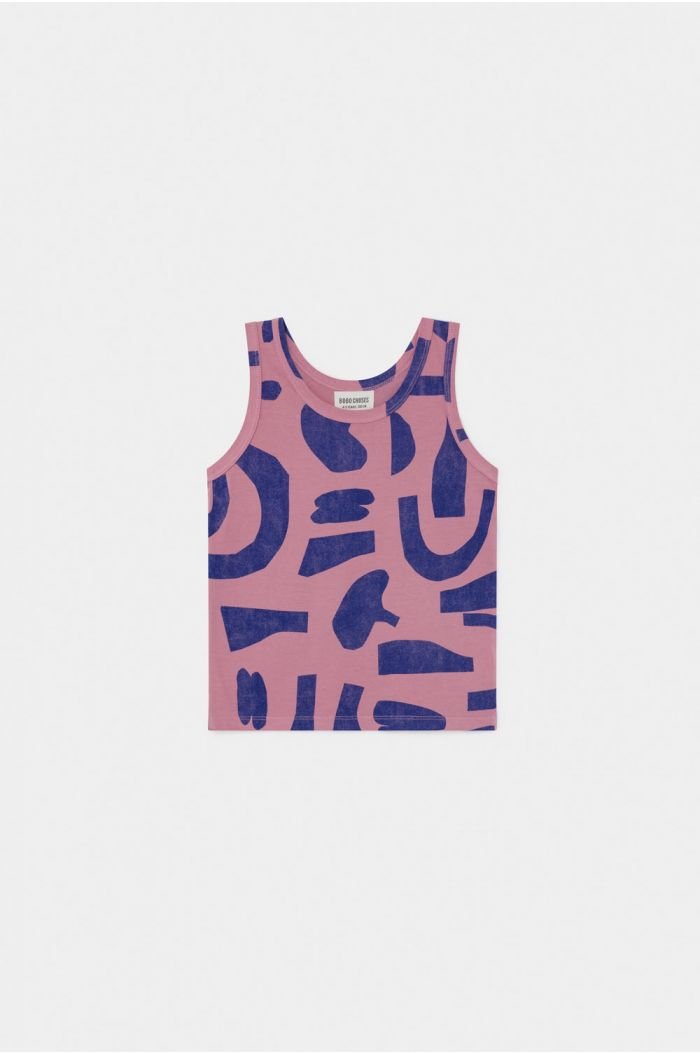 Bobo Choses Abstract  Tank Top Heather Rose
