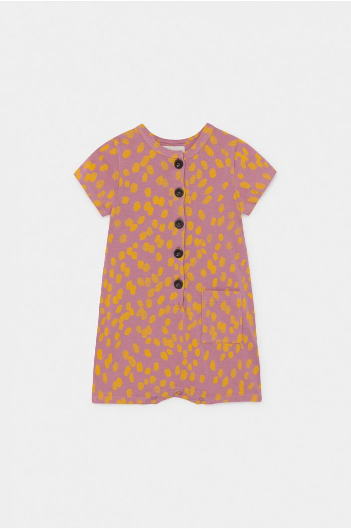 Bobo Choses Animal Print  Playsuit Heather Rose