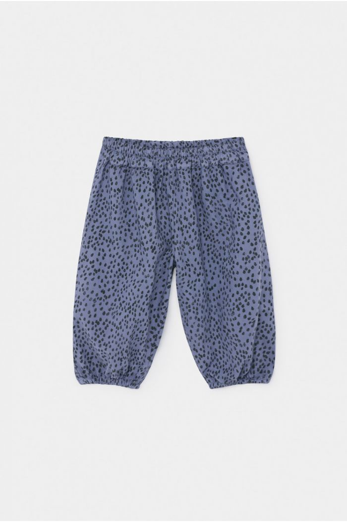 Bobo Choses All Over Leopard Baggy Trousers Stonewash