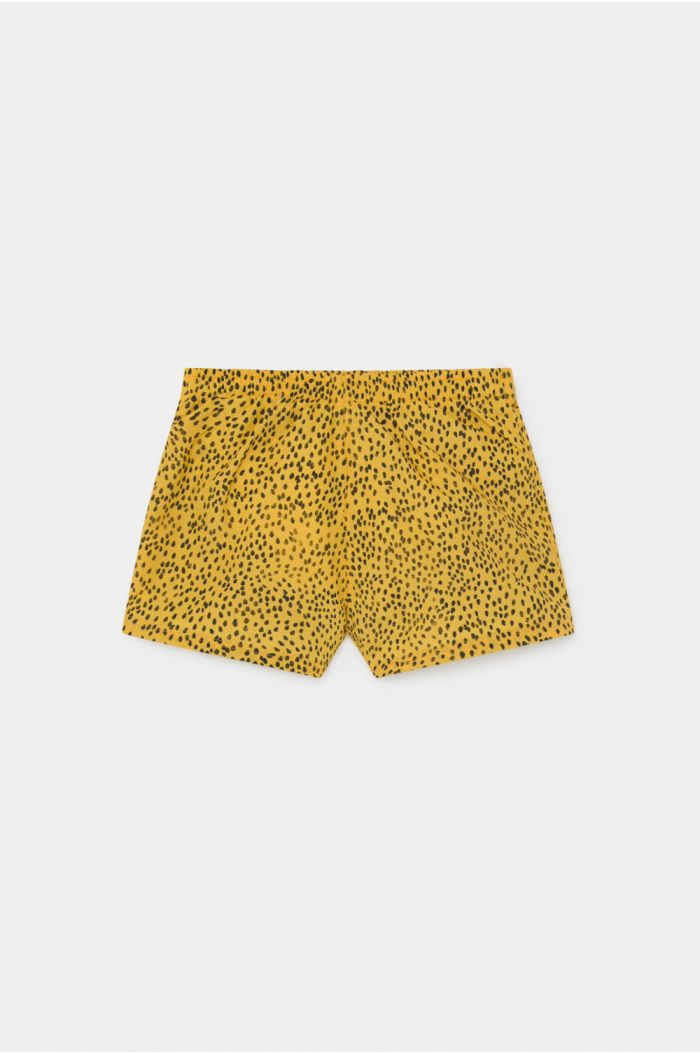 Bobo Choses All Over Leopard Swim Shorts Spectra Yellow