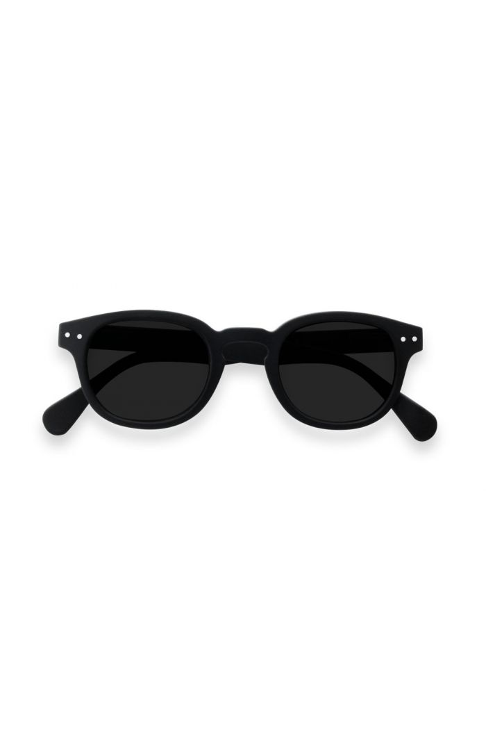 Izipizi Junior SUN LetmeSee #C Black Soft Grey Lenses