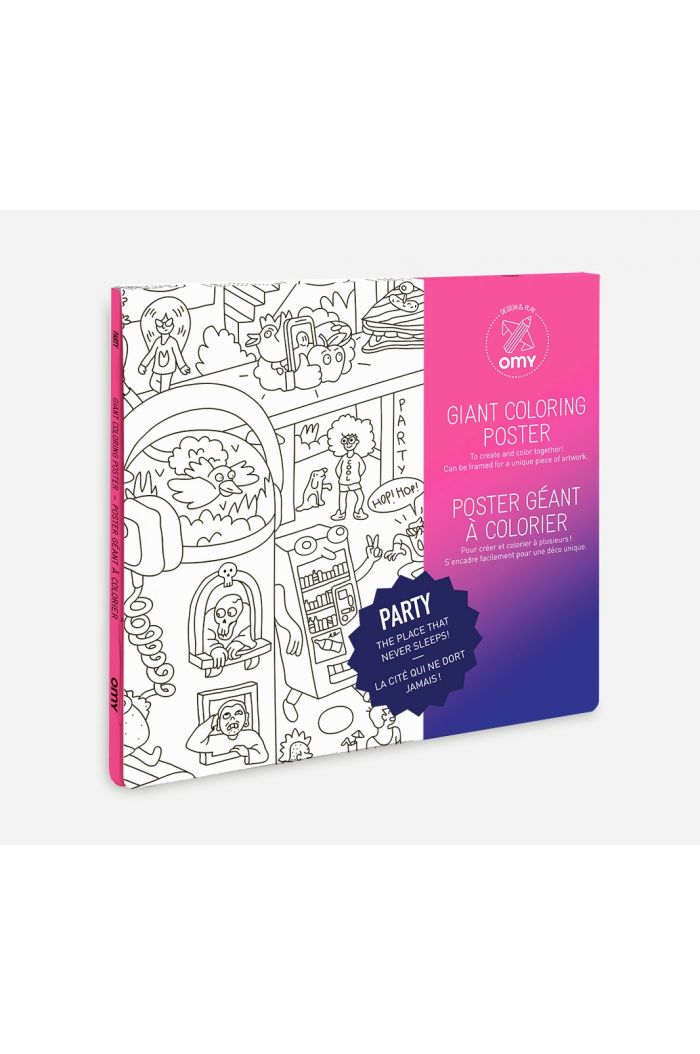 OMY Giant Coloring Poster Party