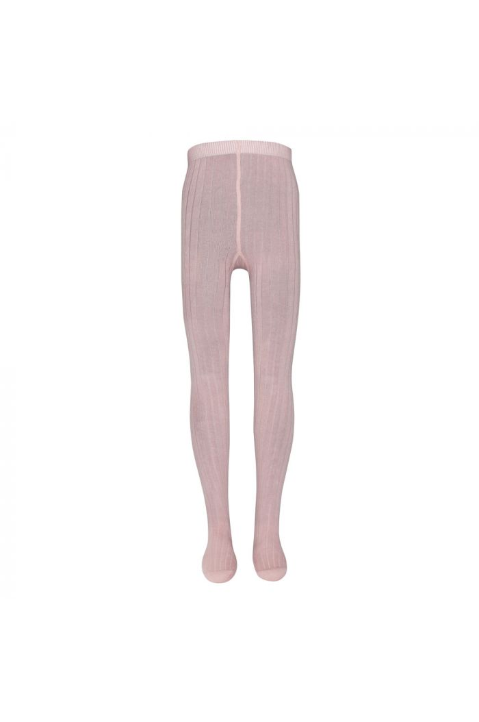 Ewers Ribbed Tights Hell wildrose (404)