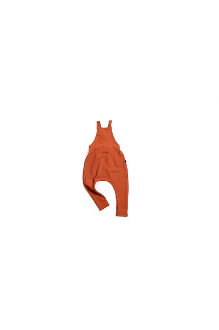 Monkind Brick Red Dungarees