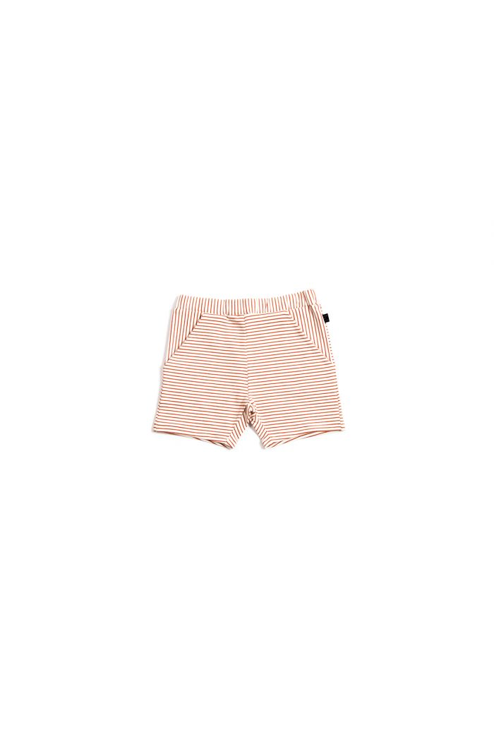 Monkind Red Stripe Shorts