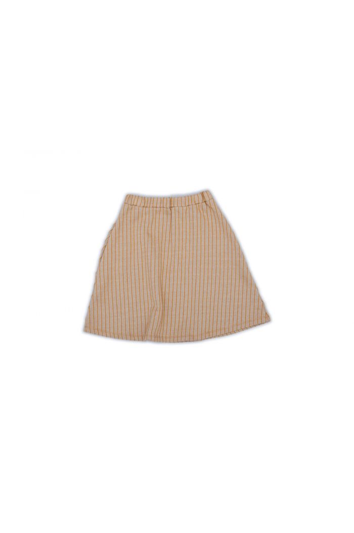 Monkind Parallel Midi Skirt Dune-Beige