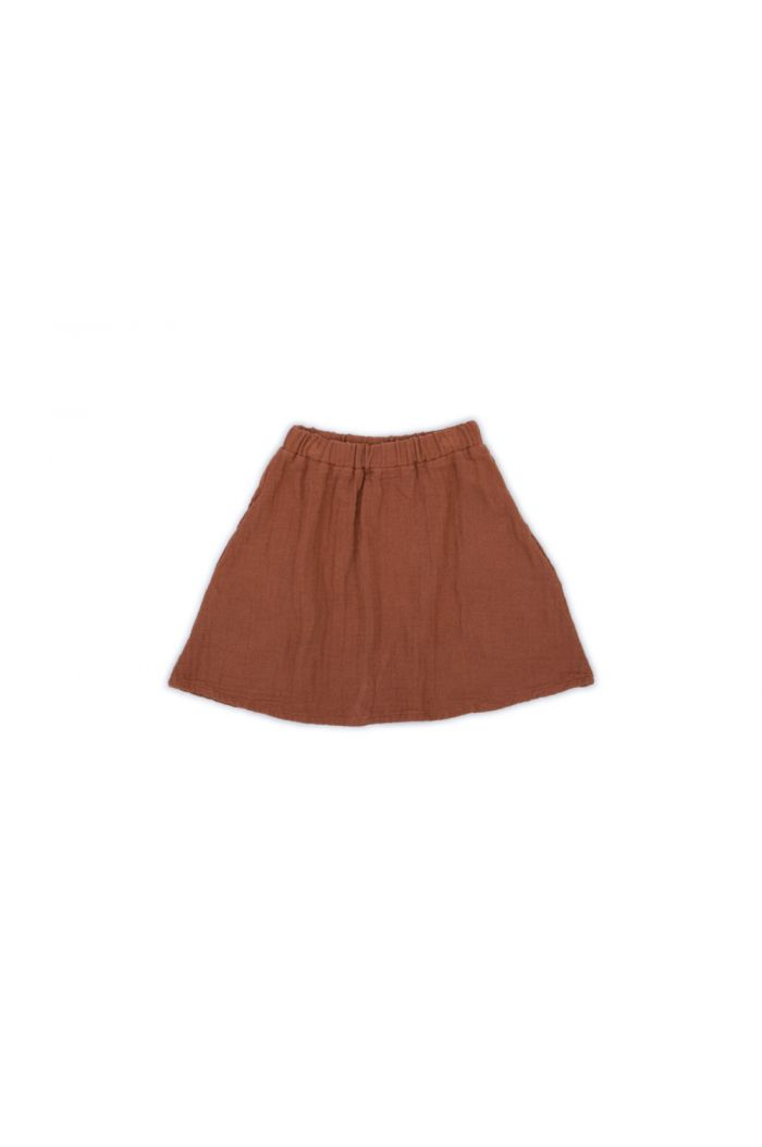 Monkind Dust Midi Skirt Mi-red