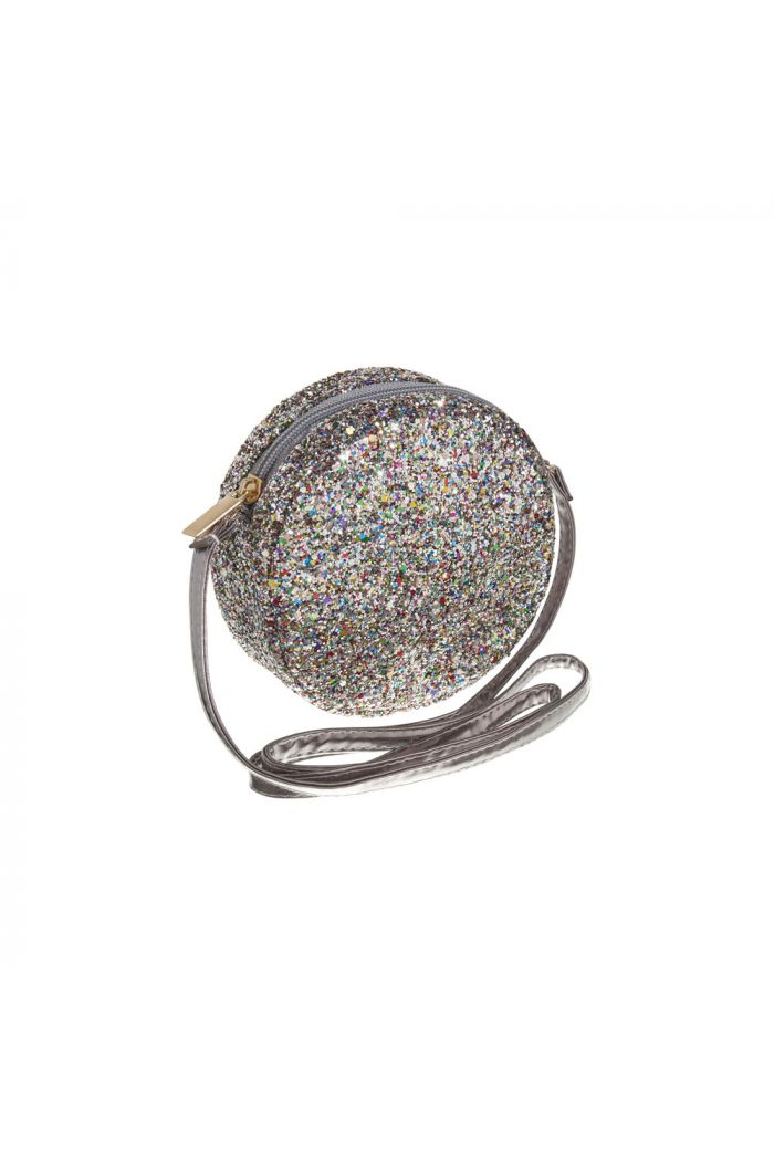 Mimi & Lula Round Cross Body Bag Haematite