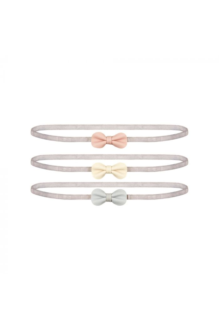 Mimi & Lula Mini Gracie Bow Bandos Powder