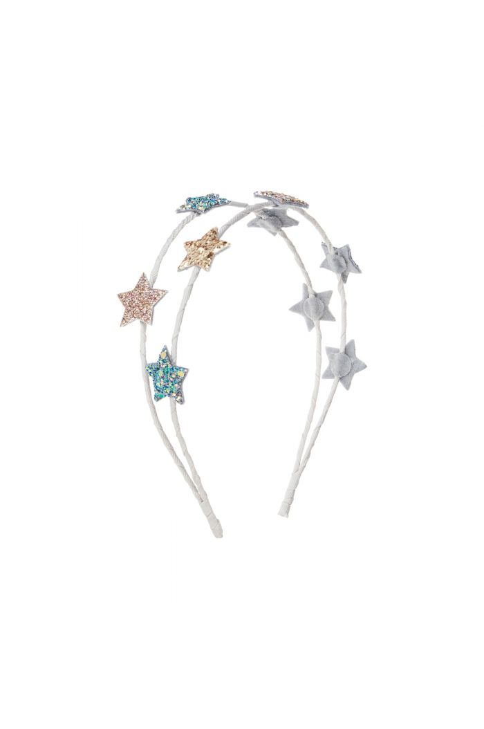 Mimi & Lula Starlight Sparkle Double Alice Band