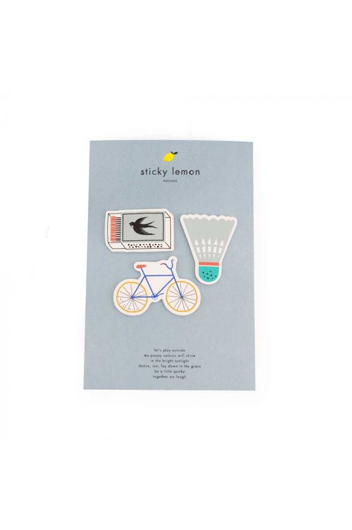 Sticky Lemon Patches Bike-Shuttle-Matches