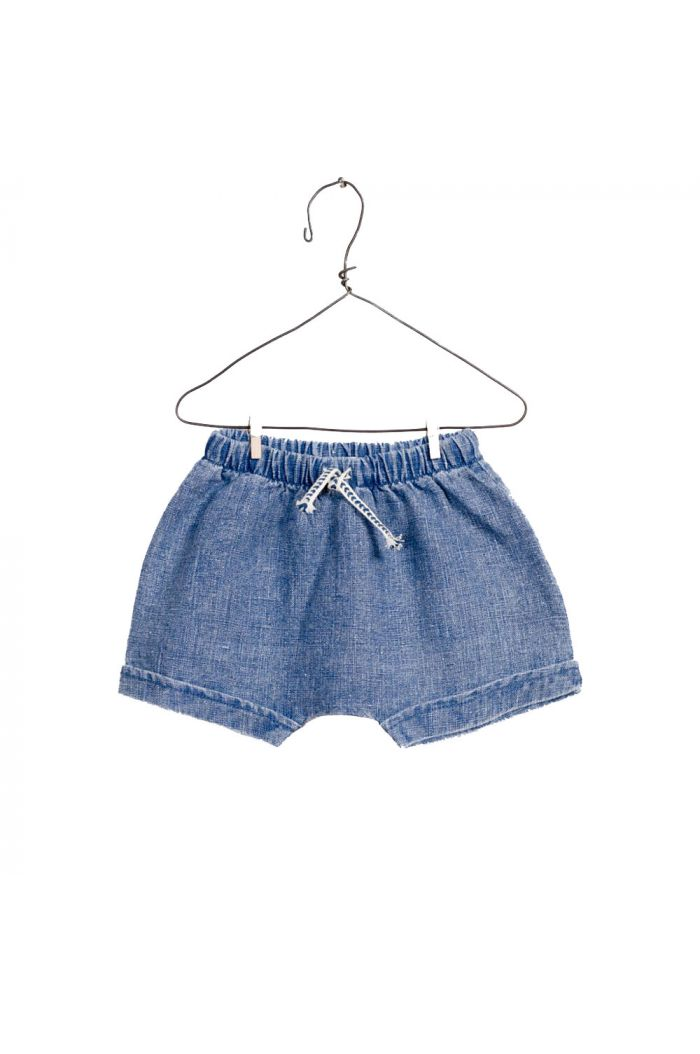 Play Up Woven Shorts Blue