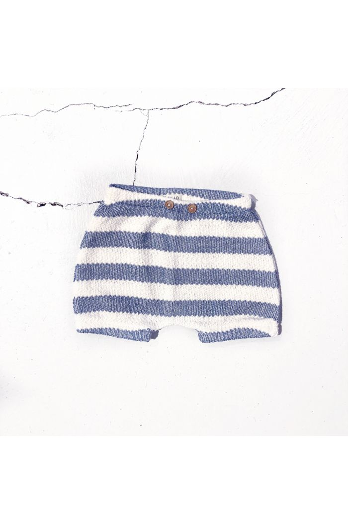 Play Up Striped Fleece Shorts Striped