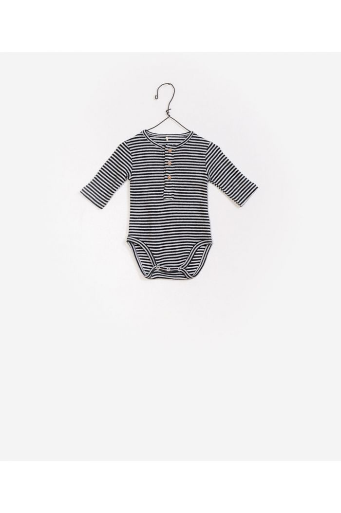 Play Up Striped Rib Bodysuit R226B