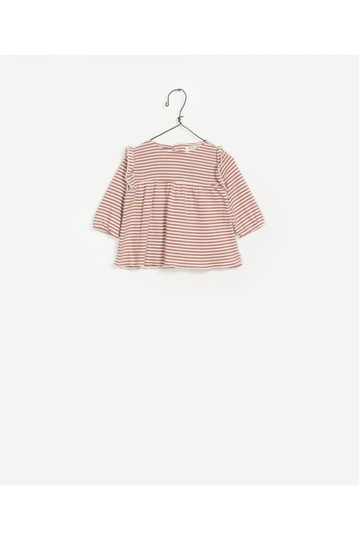Play Up Striped  Rib Tunic R227P