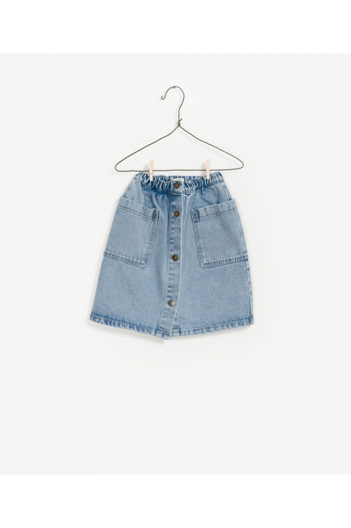 Play Up Denim Skirt Denim