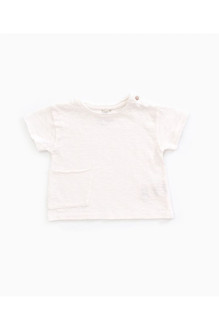 Play Up Flamé Jersey T-shirt Anti-UV Pearl