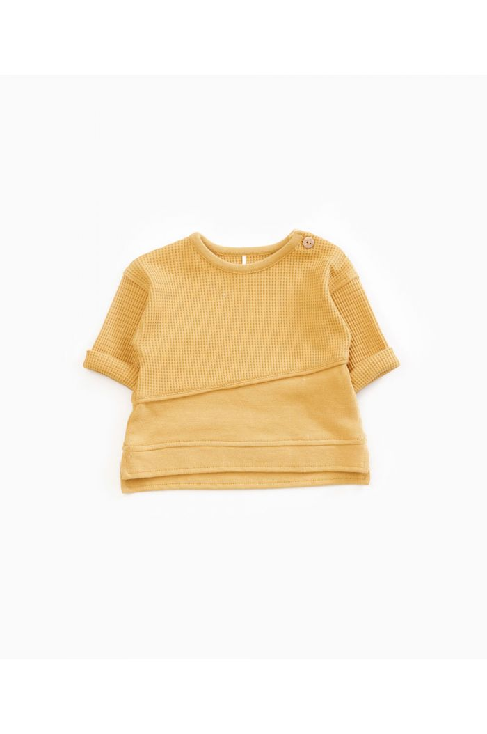 Play Up Interlock Sweater Sea Almond