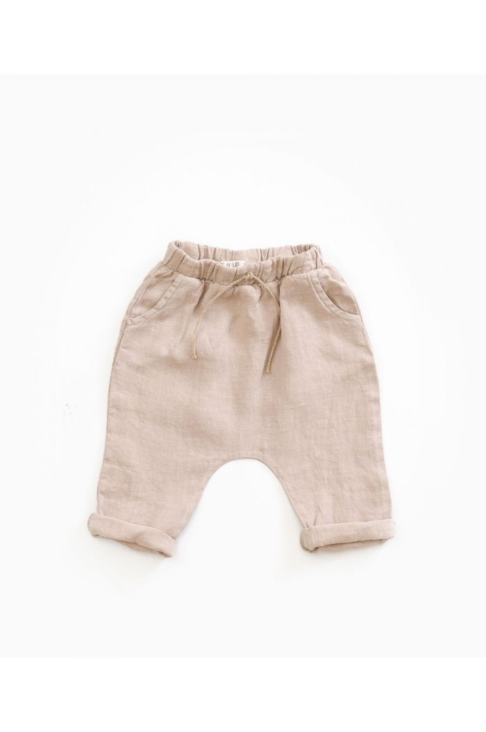Play Up Linen Trousers Jute