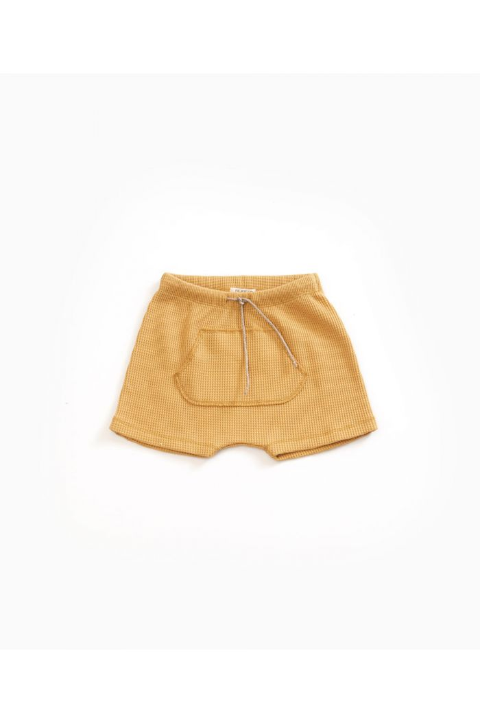 Play Up Interlock Shorts Sea Almond