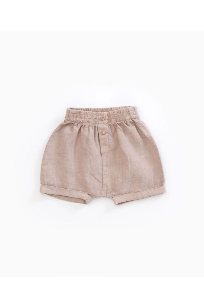 Play Up Linen Shorts Jute