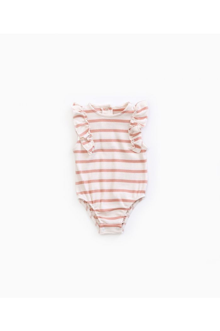 Play Up Striped Body Rib Smooth
