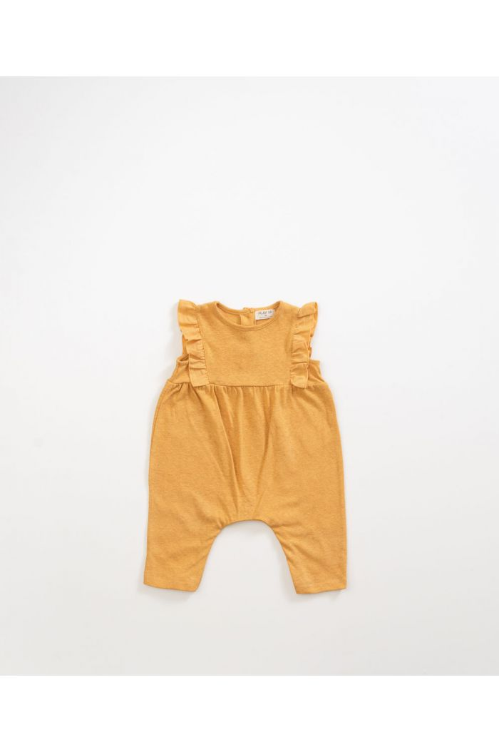 Play Up Mixed Jumpsuit Sea Almond