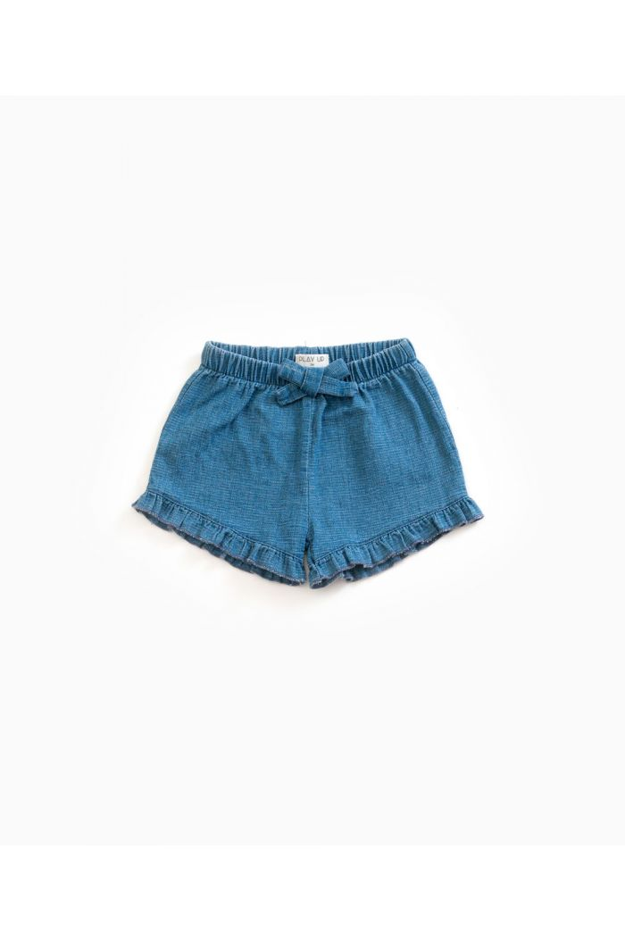 Play Up Denim Shorts Ruffles Denim