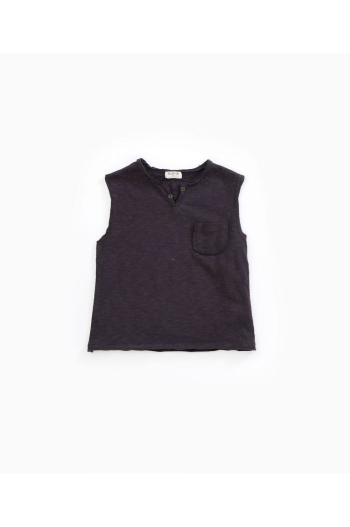 Play Up Flamé Jersey Sleeveless T-shirt Basalt