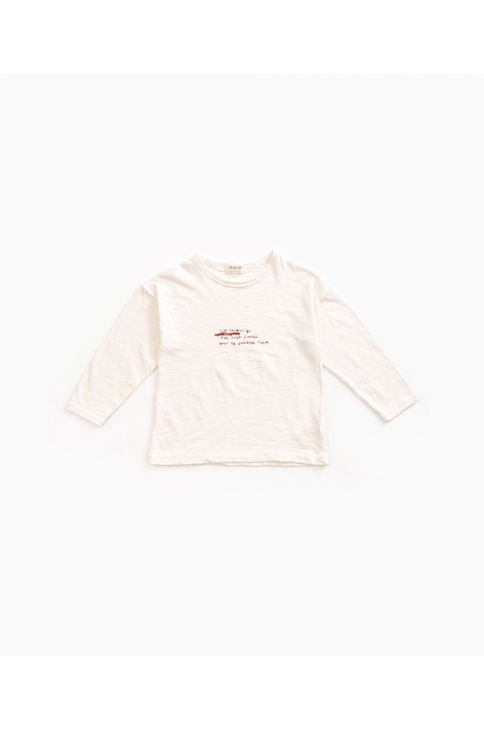 Play Up Longsleeve Flamé Jersey T-shirt Pearl