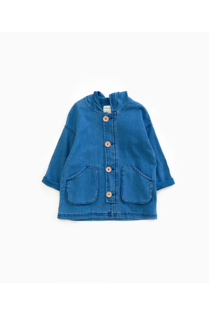 Play Up Parka Kids Denim