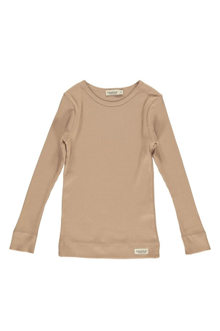 MarMar CpH Plain Tee Longsleeve Rose Brown