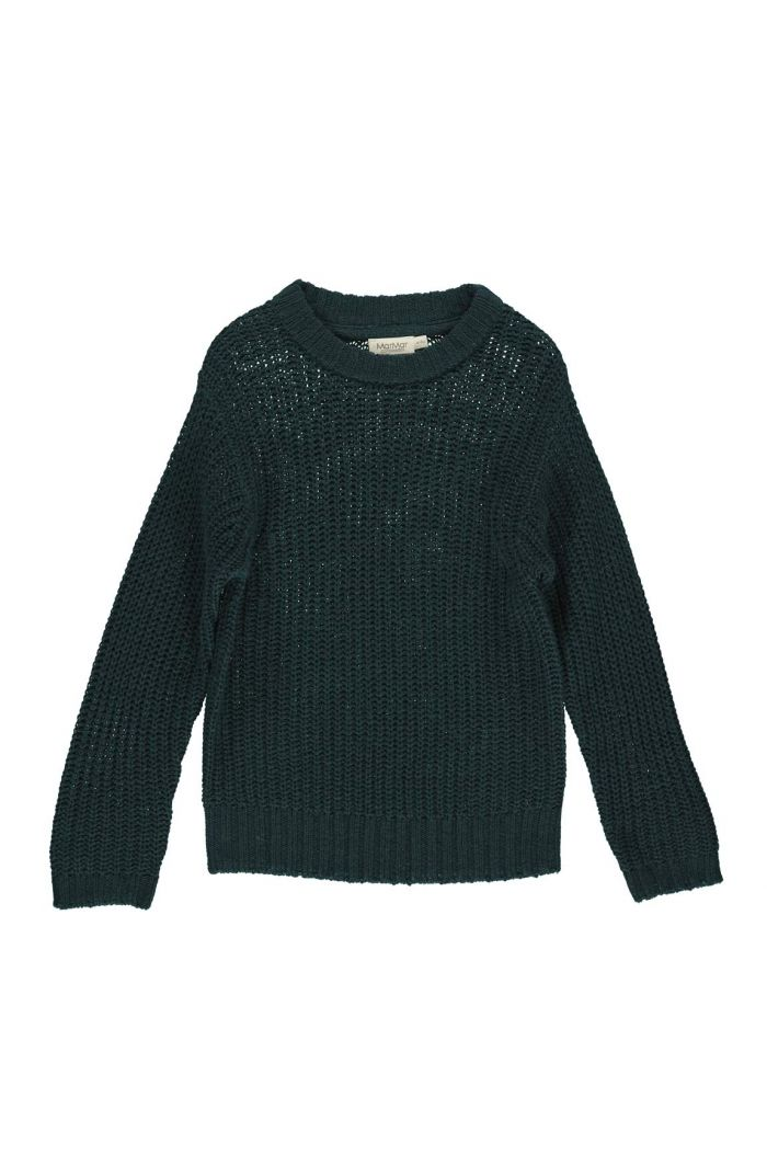 MarMar CpH Tonga Chunky Knit Sweater Oily Blue