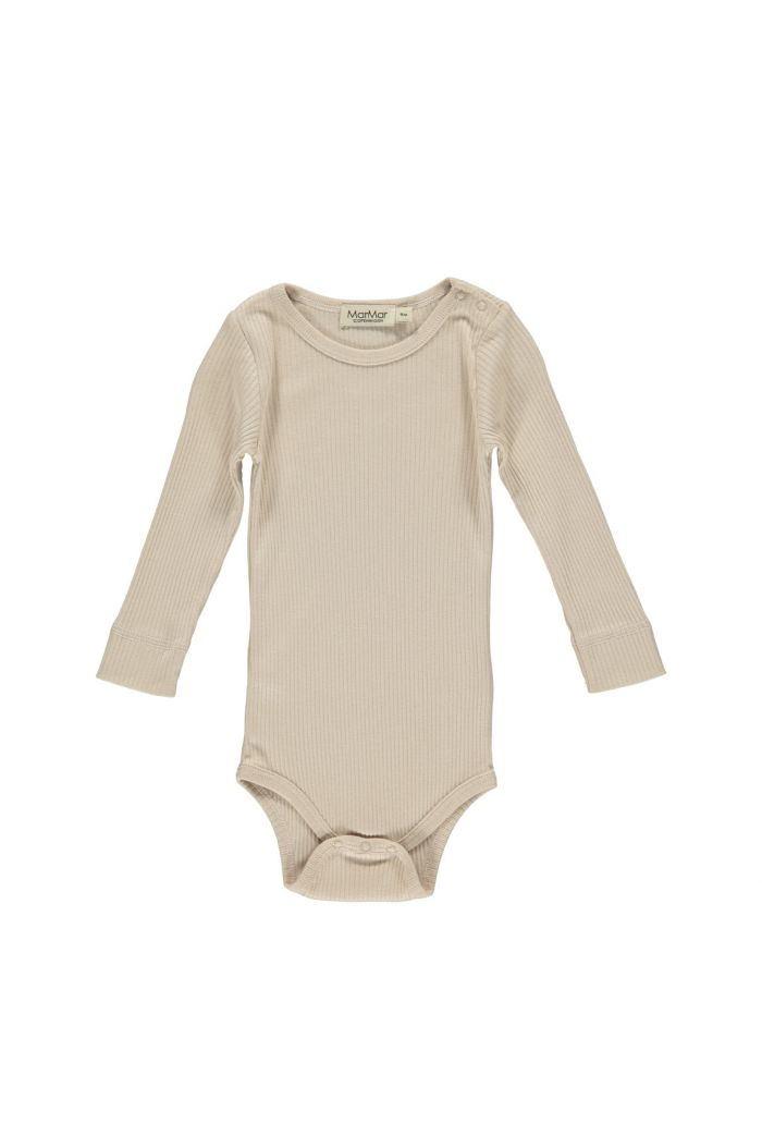 MarMar Cph Plain Body Longsleeve Modal Rose Moon