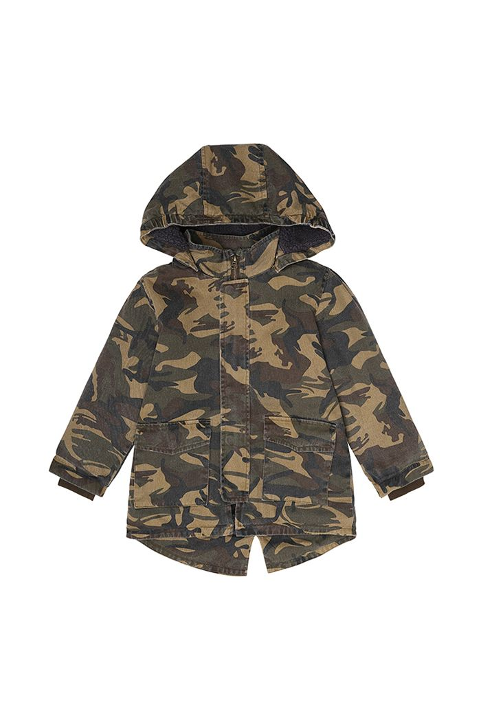 Soft Gallery Adam Jacket Army Boxed